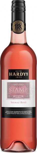 "Вино Hardys, ""Stamp"" Shiraz Rose, 2014"