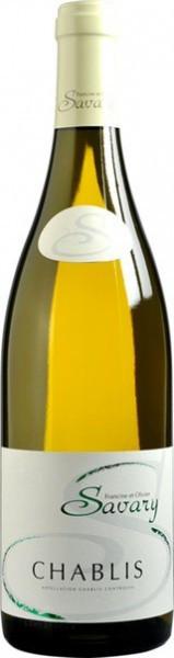 Вино Savary, Chablis AOC, 2014, 0.375 л
