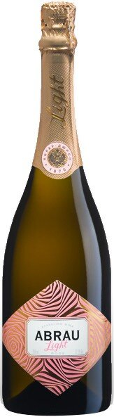 "Игристое вино Abrau-Durso, ""Abrau Light"" Rose"