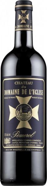 Вино Chateau du Domaine de l'Eglise, Pomerol AOC, 2013