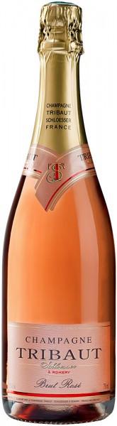 Шампанское Tribaut Schloesser, Brut Rose, 375 мл