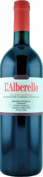 """Вино Grattamacco, """"L'Alberello"""", Bolgheri Superiore DOC, 2013"""