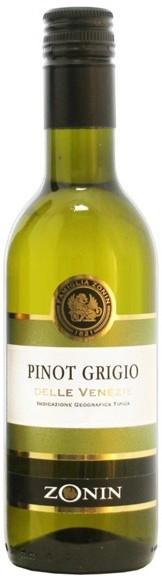 Вино Zonin, Pinot Grigio Delle Venezie IGT, 0.25 л