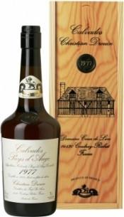 Кальвадос Coeur de Lion Calvados Pays d`Auge 1977, wooden box, 0.7 л