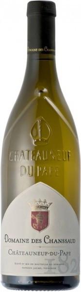 Вино Domaine des Chanssaud, Chateauneuf-du-Pape Blanc AOC, 2013
