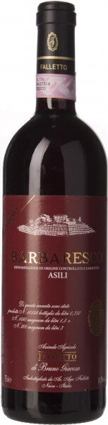 """Вино Falletto, Barbaresco DOCG """"Asili"""" Riserva, 2011"""