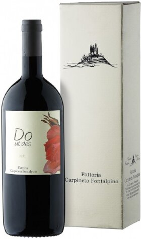 "Вино Carpineta Fontalpino, ""Do Ut Des"", Toscana IGT, 2011, gift box, 1.5 л"