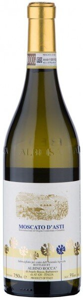 Игристое вино Albino Rocca, Moscato d'Asti DOCG, 2013