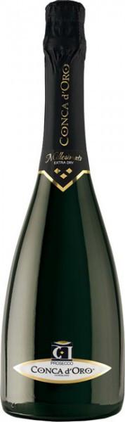 Игристое вино Conca d'Oro, Conegliano Valdobbiadene Prosecco Superiore Millesimato Extra Dry, 2014