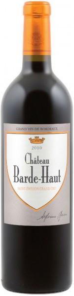 Вино Chateau Barde-Haut, Saint-Emilion Grand Cru AOC, 2010