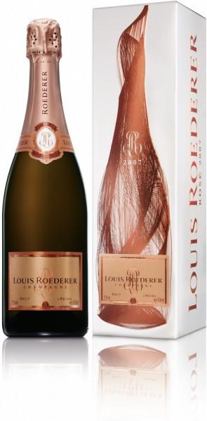 """Шампанское Brut Rose AOC, 2007, """"Grafika"""" gift box, 1.5 л"""