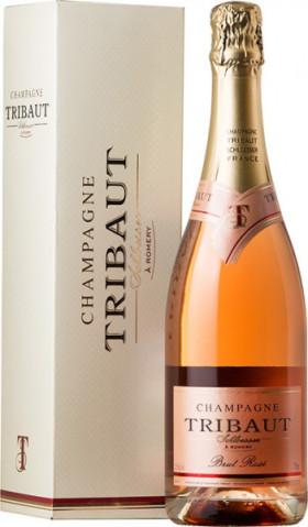 Шампанское Tribaut Schloesser, Brut Rose, gift box
