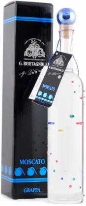 Граппа Bertagnolli Monovitigno Grappa di Moscato gift box, 0.5 л