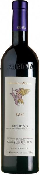 """Вино Abbona, """"Faset"""", Barbaresco DOCG, 2008"""