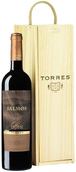 """Вино Torres, """"Salmos"""", Priorat DOC, 2012, wooden box"""