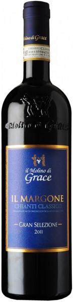 """Вино Il Molino di Grace, Chianti Classico Gran Selezione """"Il Margone"""" DOCG, 2011"""