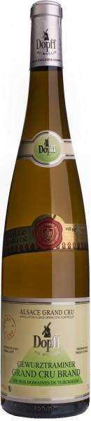 """Вино Dopff au Moulin, Gewurztraminer Alsace Grand Cru AOC """"Brand"""", 2012"""