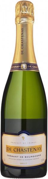 "Игристое вино ""De Chastenay"" Crеmant de Bourgogne AOC Brut"