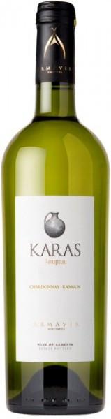 "Вино Armavir Vineyards, ""Karas"" Classic White, 2012"
