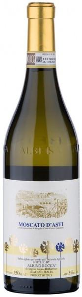 Игристое вино Albino Rocca, Moscato d'Asti DOCG, 2014