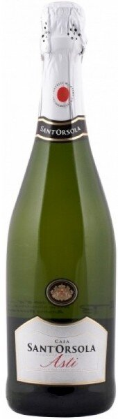 "Игристое вино Fratelli Martini, ""Sant'Orsola"" Asti"