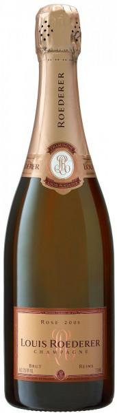 Шампанское Brut Rose AOC, 2008