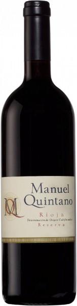 "Вино ""Manuel Quintano"" Reserva, Rioja DOC, 2004"