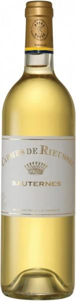 """Вино """"Les Carmes de Rieussec"""", Sauternes AOC, 2012"""