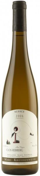 """Вино Clos Rebberg Pinot Gris """"Aux Vignes"""", Alsace AOC, 2006"""