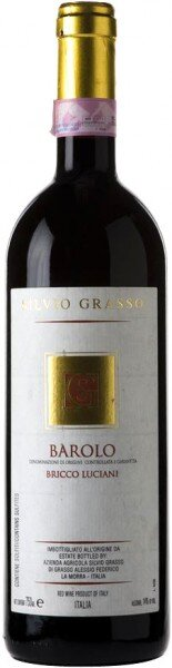 """Вино Silvio Grasso, """"Bricco Luciani"""", Barolo DOCG, 2005"""