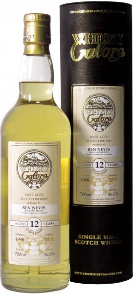 "Виски ""Ben Nevis Galore"", 12 Years Old, 1998, Highland, in gift box, 0.7 л"
