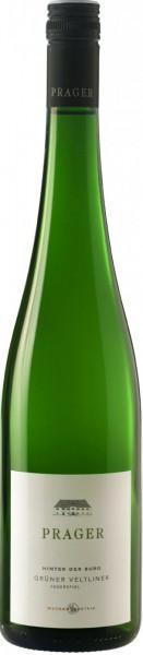 Вино Prager, Gruner Veltliner Federspiel, Hinter der Burg, 2012