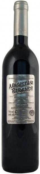 Вино Magister Bibendi Gran Reserva 2001