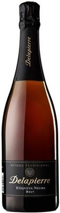 """Игристое вино Cava """"Delapierre"""" Negra Brut"""
