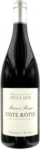 """Вино Domaine Duclaux, """"Maison Rouge"""" Cote-Rotie AOC, 2011"""