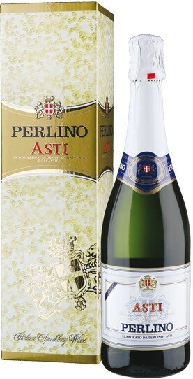 Игристое вино Perlino, Asti DOCG, gift box