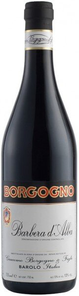Вино Borgogno, Barbera D'Alba DOC, 2014