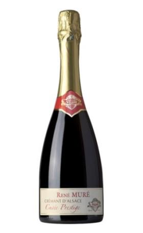 Креман Rene Mure Cremant d' Alsace Cuvee Prestige Brut 0.75л