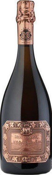 "Игристое вино Monte Rossa, ""Cabochon Rose"" Brut, Franciacorta DOCG, 2001"