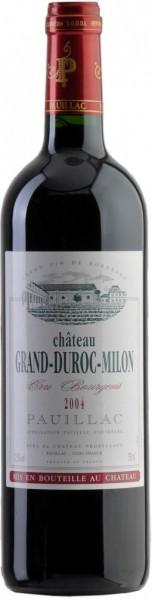 Вино Chateau Grand-Duroc-Milon, Pauillac AOC, 2004
