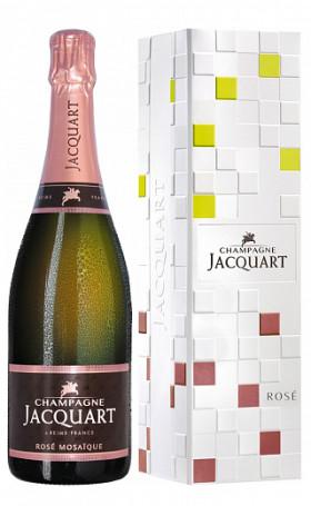 Шампанское Jacquart Mosaique Rose gift box 0.75л