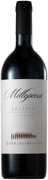 """Вино Donna Olimpia 1898, """"Millepassi"""", Bolgheri Superiore DOC, 2009"""