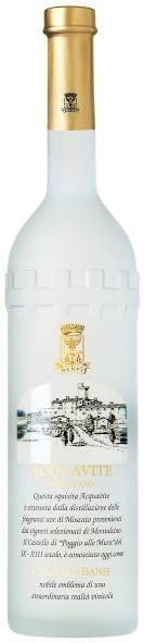 Граппа Acquavite di Moscato, 0.7 л