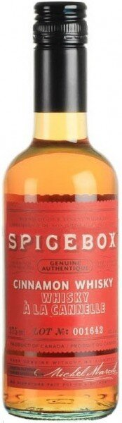 "Виски ""Spicebox"" Cinnamon, 0.375 л"