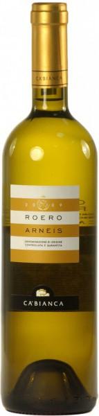 Вино Ca'Bianca, Arneis Roero, 2009