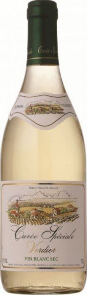 Вино Cuvee Speciale Verdier Blanc Sec