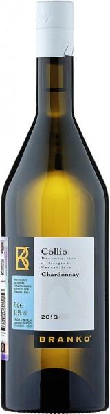Вино Branko, Chardonnay, Collio IGT, 2013