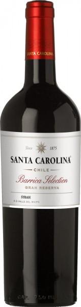 """Вино Santa Carolina, """"Barrica Selection"""" Gran Reserva Syrah, 2010"""