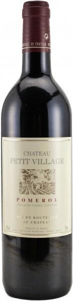 Вино Chateau Petit Village Pomerol AOC 2001