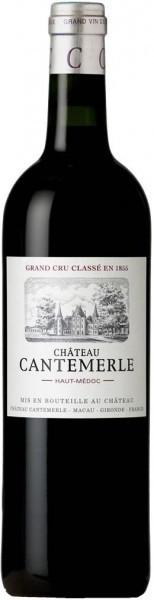 Вино Chateau Cantemerle, Haut-Medoc AOC 5-me Grand Cru, 2007